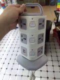 10A 250V USB 플러그를 가진 국제적인 다중 전원 소켓