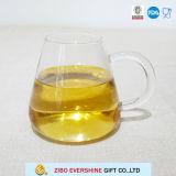 Tee-Glasbecher als Laborgeräten-Gebrauch