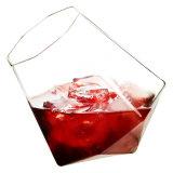 350 ml de borosilicato personalizada Forma de diamante Cerveza cristal Copa