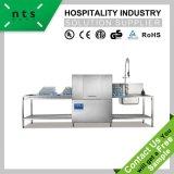 En acier inoxydable convoyeur électrique lave-vaisselle