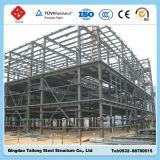 プレハブサンドイッチパネルの鉄骨フレームの構造の建物