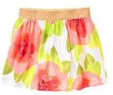 Aquarelle jupe à motifs floraux fille robe du Kid's Kids' robe d'usure