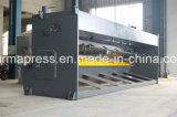 Senhora Placa Folha, placa que endireita a máquina de corte, motor pneumático China, corte de folha hidráulico do metal