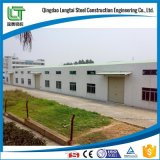 Costruzioni prefabbricate della tettoia della struttura d'acciaio