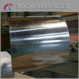 Bobine en acier galvanisée plongée chaude de la paillette Jisg3302 régulière