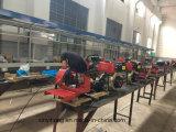 9.0HP motor diesel tractor agrícola Rotary Cultivador de alimentación del timón