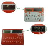 L'énergie solaire calculatrice de poche léger carte de crédit