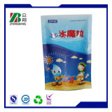 Impression personnalisée en plastique Stand up Food Packaging Pouch with Zipper