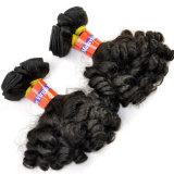 Extensions malaisiennes Lbh 073 de cheveu de Vierge de premier cheveu de la pente 9A Funmi