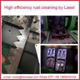 移動式クリーニング及びマーキングの石造りのクリーニングを改装するDe錆つく金属のための100Wレーザーのきれいな機械