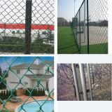 工場価格PVC構築のための上塗を施してある/Galvanizedチェーン・リンクの塀