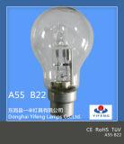 La lampada alogena economizzatrice d'energia A55 di Eco con CE, RoHS ha approvato