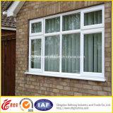 Finestra di alluminio isolata calore/finestra di alluminio del telaio