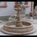 Fontana dorata del granito della sabbia per la mobilia Mf-1287 del giardino