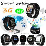 téléphone intelligent de la montre 2017 3G avec le remplissage d'aimant (N8)