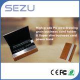 Batería abierta de la potencia de la tarjeta conocida del doble para el iPhone como regalo promocional
