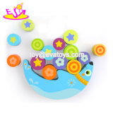 Nova melhores engraçado Lua Madeira Blocos de balanço de brinquedo para pré-escolares W11f072