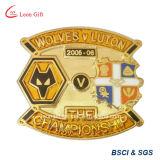 Shield Design Suit Metal Custom Pin Badge