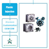 Kundenspezifische Plastikspritzen-Produkt-Haushaltsgerät-Plastikventilatorflügel
