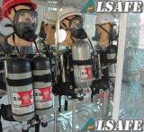 消防士のScbaカーボンファイバーによって包まれる空気タンク