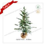 普及したH140cmの人工的なプラスチッククリスマスの装飾の球のクリスマスツリーの宝石類
