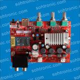 Módulo amplificador de volumen agudo de bajos de la placa amplificadora estéreo Bluetooth