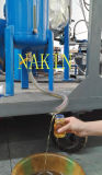 Planta de destilação Waste pequena do petróleo de motor do modelo Jzc-2 da capacidade