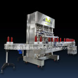 Full Automatic Shampoo Shower Lotion Detergent Filling Machine