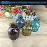 De vlotte Vaas van het Glas met Verschillende Kleur voor Bloem