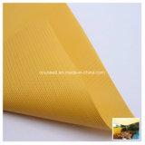 Material revestido del toldo del acoplamiento del poliester del PVC para la cortina de ventana