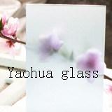 """vetro dell'acido di 4-6mm/vetro """"float"""" acido/vetro glassato/vetro decorativo"""