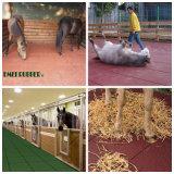 Циновка прочной лошади дренажа резиновый (EN1177)