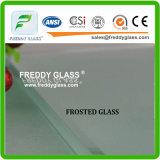 vidro geado moderado 8mm-19mm para a porta do banheiro