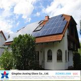 太陽電池のモジュールおよび太陽給湯装置のための超明確な緩和された太陽ガラス