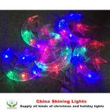 별과 Moon Decoration LED Holiday Lights