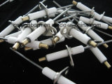 Spina di scintilla di ceramica d'isolamento dell'elettrodo