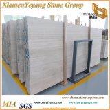 Madeira branca/Falda Naturale/Veias de madeira para azulejos de mármore/cobrindo/Instalações Eléctricas