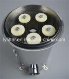 Ronda 5 de 10 pulgadas de caja del filtro de cartucho de acero inoxidable DOE