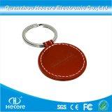 860-960MHz UHFの外国人Higgs-3 Ucodegen2の革ABS PVC RFID Keychain主Fob RFID