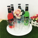 Wholesale Beautful CLEAR Round acrylic Wine display rack