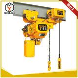 1 Type van laag-Vrije hoogte van het Hijstoestel van de Keten van de ton het Elektrische Ultra (HHBB01-01SL)