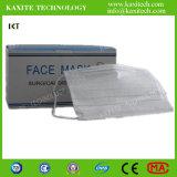 Устранимый Non сплетенный медицинский лицевой щиток гермошлема с Earloop 3ply