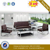 Mobilier de bureau moderne canapé en cuir véritable Bureau de la table (HX-CF013)