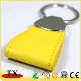 Kundenspezifisches Marken-Firmenzeichen-Leder Keychain