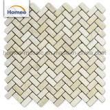 Decoratie van uitstekende kwaliteit van de Vloer van de Badkamers van de Tegel van de Baksteen van het Mozaïek van de Steen van de Aard de Nieuwe Beige Marmeren