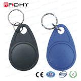 Venda quente ISO18000 125kHz/13.56MHz RFID Keyfobs para o controle de acesso