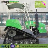 Wsl Wishope-752 сельскохозяйственных тракторов резиновые гусеничные тракторы на гусеничном ходу