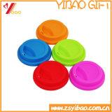관례 85-95 mm 다채로운 FDA /Certification 찻잔 실리콘 컵 뚜껑 컵 소매 (XY-CL-156)