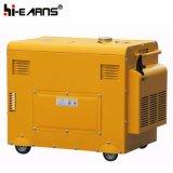 Air-Cooled молчком тип тепловозный комплект генератора трехфазный (DG5500SE3)