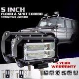 Stab-nicht für den Straßenverkehr Licht-Punkt-Träger-Fahren der Fabrik-direktes Verkaufs-Auto-Zubehör-5 des Zoll-72W Tri heller der Reihen-LED